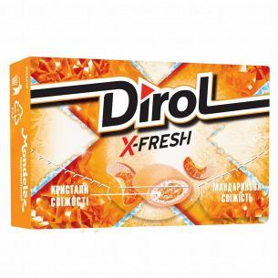 Резинка жевательная Dirol X-Fresh мандариновая свежесть