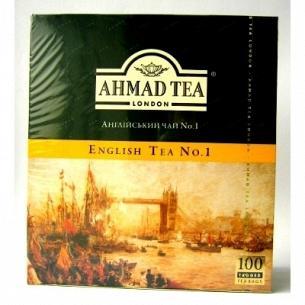 Чай Ahmad tea Английский №1