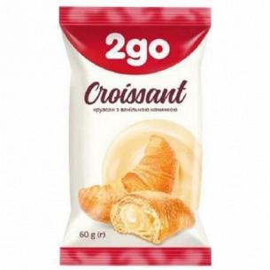Круассан 2go с ванильной начинкой