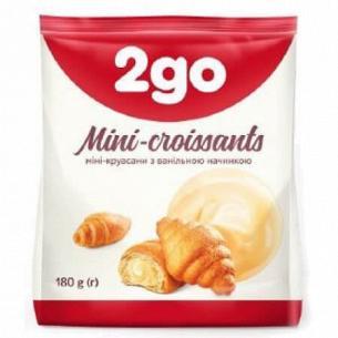 Круассаны 2go с ванильной начинкой мини