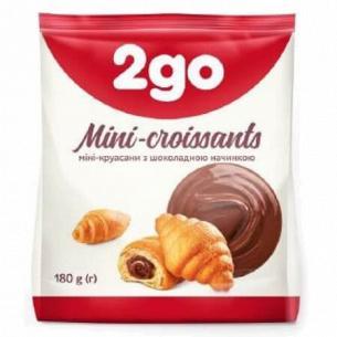 Круассаны 2go шоколадная начинка мини