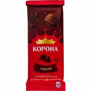 Шоколад черный Корона без добавок