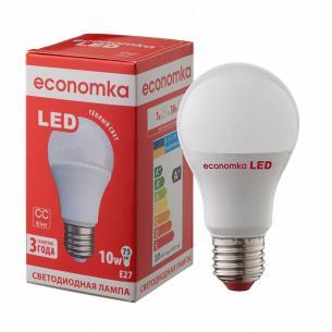 Лампа Экономка LED A60 10W 2800K E27