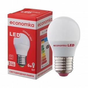 Лампа Экономка LED G45 6W 2800K E27