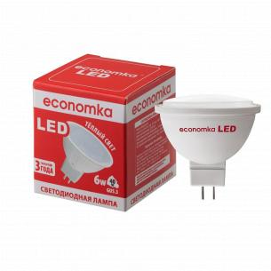 Лампа Экономка LED MR16 6W 2800K GU5.3