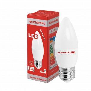 Лампа Экономка LED CN 6W 2800K E27