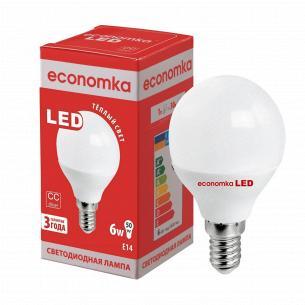Лампа Экономка LED G45 6W 2800K E14
