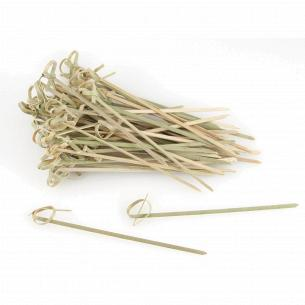 Шпажки для канапе Fackelmann бамбук с узлом 10см 56645
