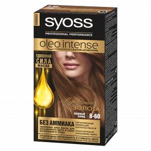 Крем-краска Syoss Oleo Intense 8-60 Медовый блонд