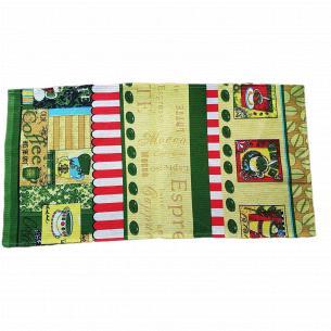 Полотенце кухонное Мир текстиля вафельное 40х75