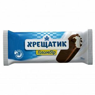 Мороженое Хладик Крещатик пломбир кондит глазурь