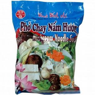 Лапша Bich-Chi рисовая со вкусом грибов