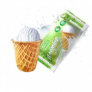 Мороженое Белая Бяроза пломбир сахарный стакан