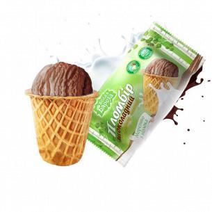 Мороженое Белая Бяроза пломбир шоколад сахар стак