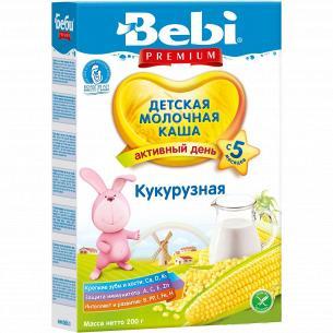 Каша кукурузная Bebi Premium молочная