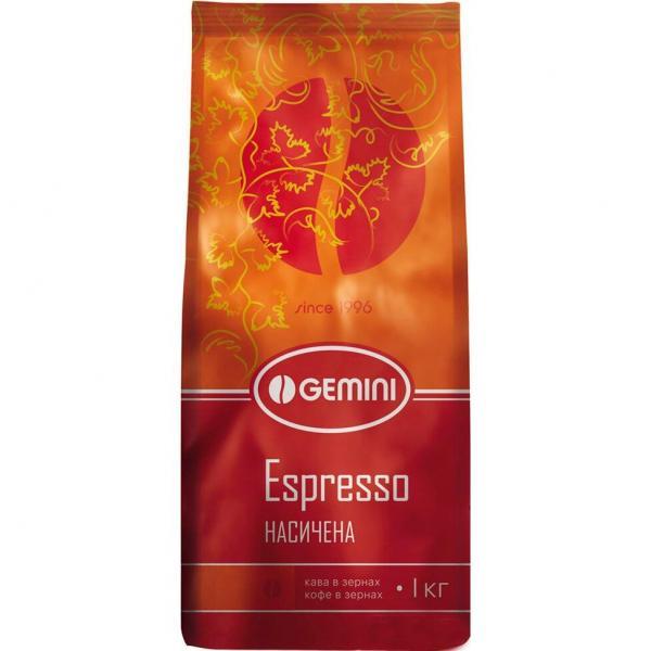 Кофе зерно Gemini Espresso Grains натуральный