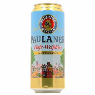 Пиво Paulaner нефильтрованное ж/б