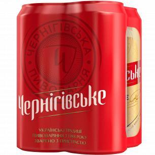 "Пиво ""Чернігівське"" светлое ж/б мультипак"