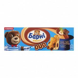 Бисквит Барні шоколад-орех