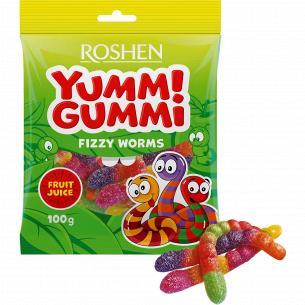 Конфеты Roshen Yummi Gummi Fizzy Worms