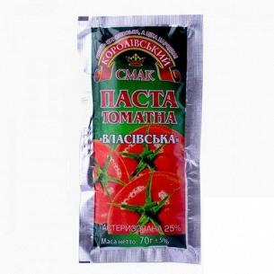 Паста томатная Королівський смак Власовская 25%