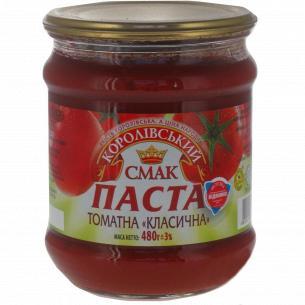 Паста томатная Королівський смак Классическ 25% с/б