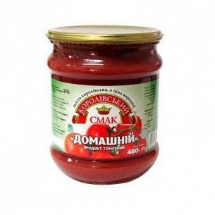 Продукт томатный Королівський смак Домашний 15% с/б