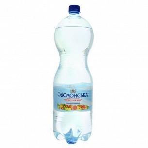 Вода минерал Оболонь Оболонская вкус грейпфр+имбирь