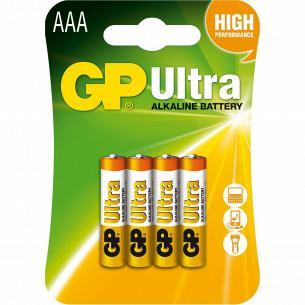 Батарейки GP ULTRA 24AU-U4шт, ААА