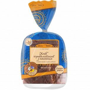Хлеб Київхліб Прибалтийский с семенами нарезанный