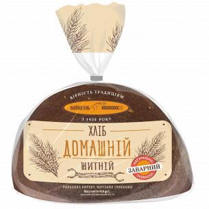 Хлеб Київхліб Домашний ржаной половинка нарезанный