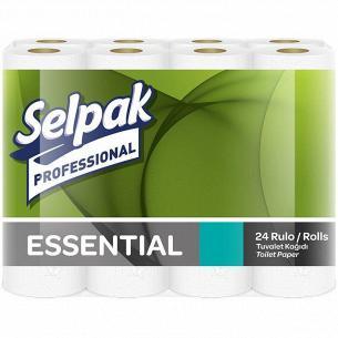 Бумага туалетная Selpak Pro Essential 2-слойная