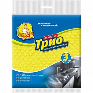 Салфетка для уборки целлюлоза Трио Фрекен Бок