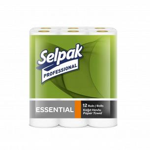 Полотенце бумажное Selpak Pro Essential 2-слойное