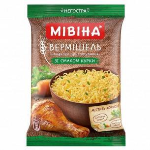 Вермишель Мівіна вкус кур/бул с овощ зелен н/остр