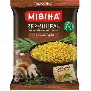 Вермишель Мівіна со вкус грибов/овощ/зелен н/остр