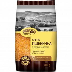 Крупа пшеничная Август твердых сортов