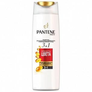 Шампунь-бальзам Pantene PRO-V 3в1 Яркость цвета