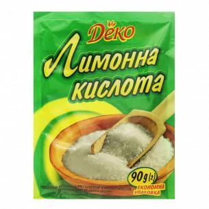 Кислота лимонная Деко
