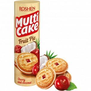 Печенье-сэндвич RoshenMulticake начинка вишн-кокос