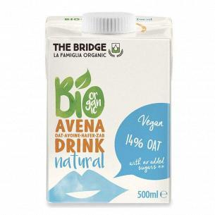 Напиток овсяный The Bridge органический