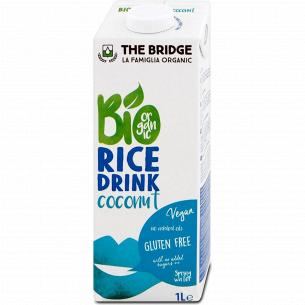 Напиток рисовый The Bridge с кокосом органический