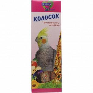 Лакомства для средн попугаев Природа Колос Мультиф