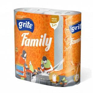 Полотенце бумажное Grite Family