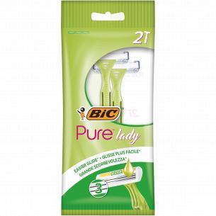 Станок для бритья BIC Pure3 lady блистер 2