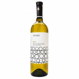 "Вино Шардоне ""Shabo"" сухое белое 0,75 л"