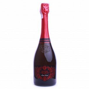 Шампанское Grande France Semi Sweet полусладкое
