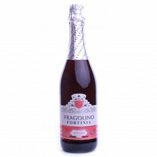 Вино игристое Fortinia Фраголино Rosso полуслад
