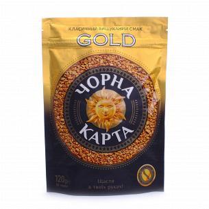 Кофе растворимый Черная карта Gold пакет