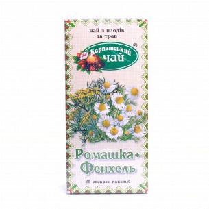 Чай Карпатський чай ромашка-фенхель